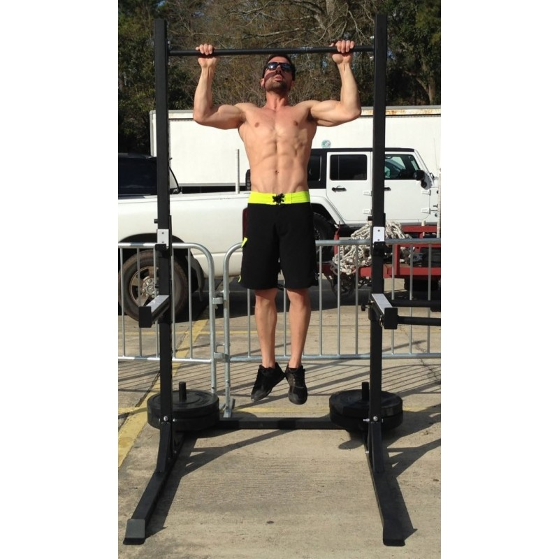 Squat Rack and Pull-up bar