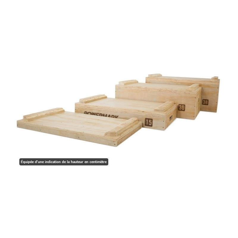 Jerk Block Set en Bois