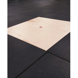 Wooden board with finish 1 m²