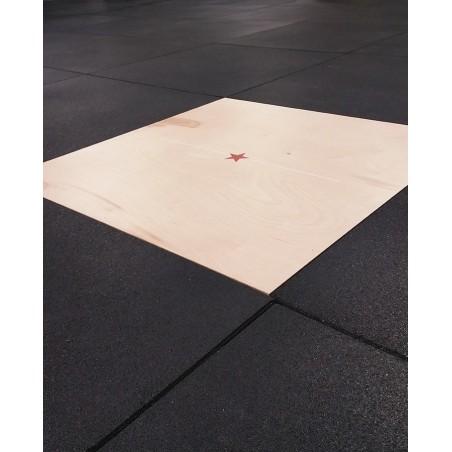 Planche bois avec finition 1m²