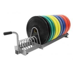 Bumper plates rack