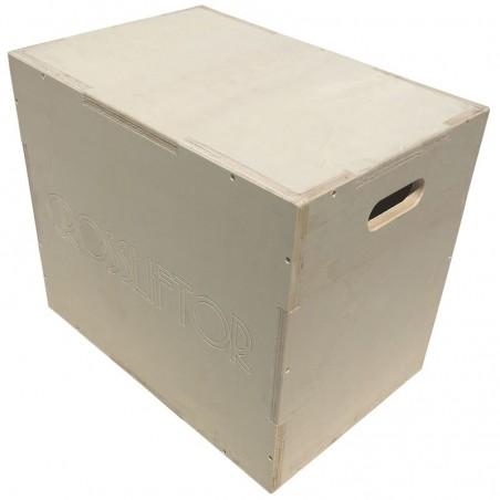 Little Plyobox 3 en 1 en bois naturel
