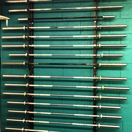 8-Barbell Olympic wall rack