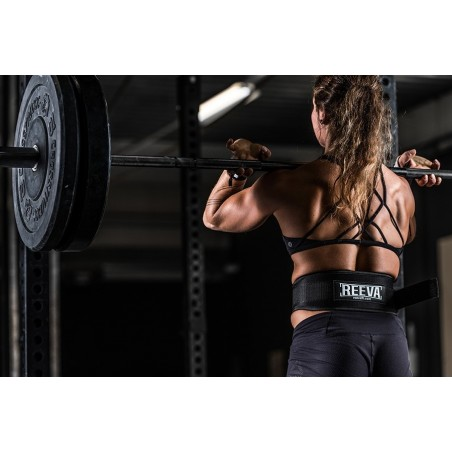 Reeva Weightlifting Belt with Velcro