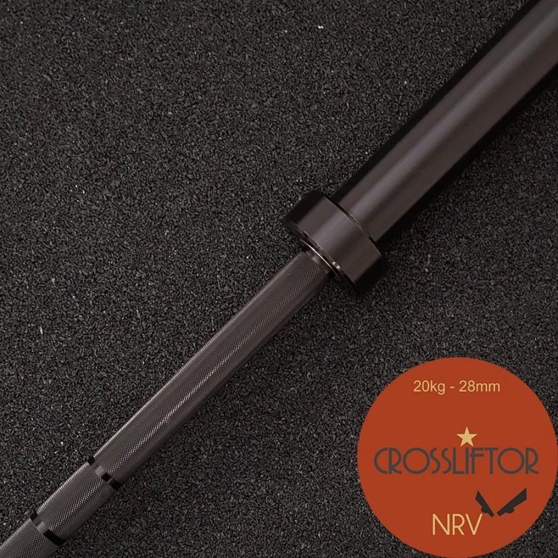 NRV Black Barbell- 20 kg