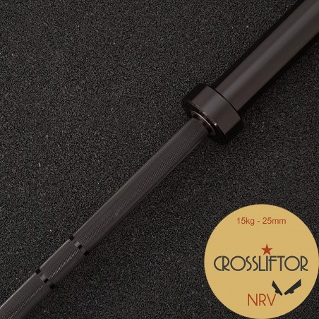 Barre NRV Black - 15 kg