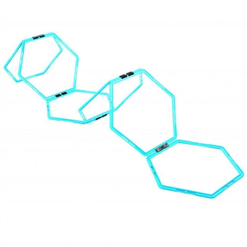 Hexagonal hoops set