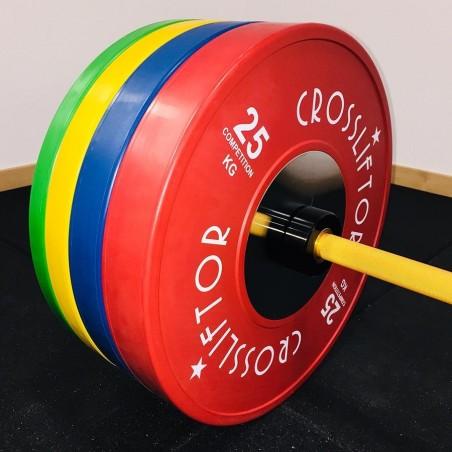 Disque Olympique Compétition - la paire