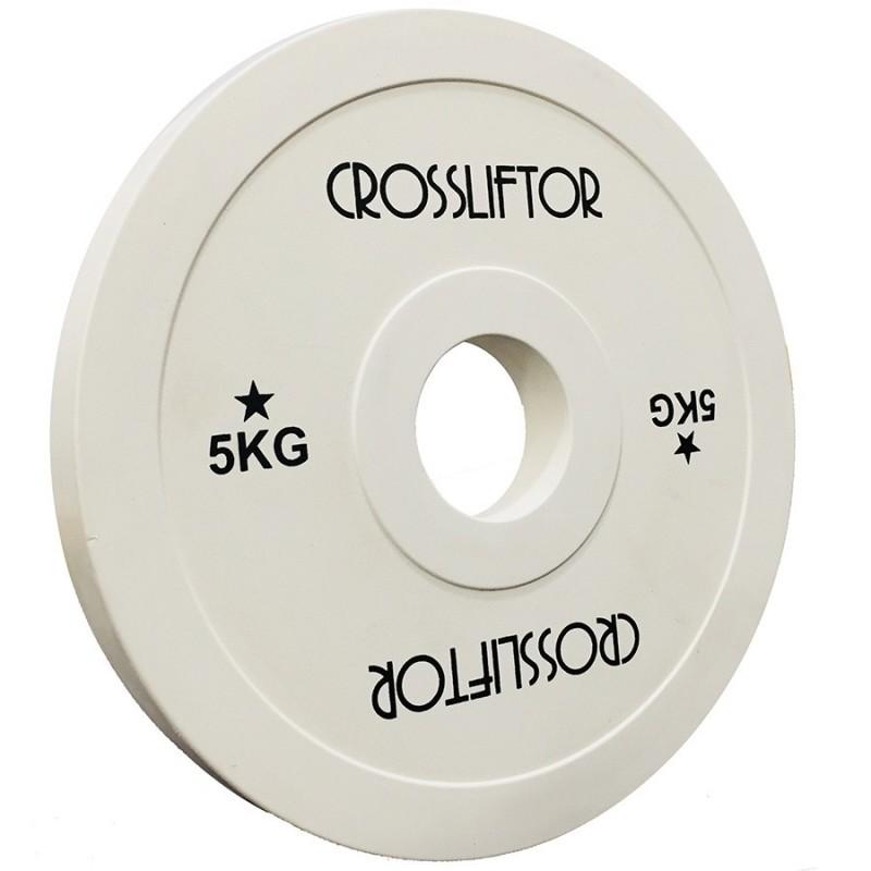 Fractional Plate IWF 5kg - la paire