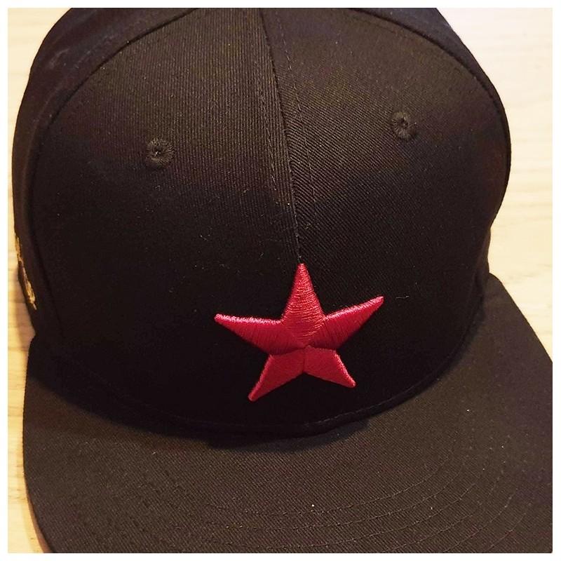 Snapback Black cap - Fran Cindy