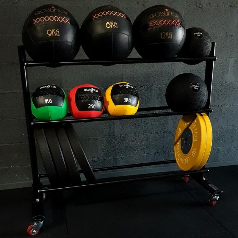 Rack pour Wall Balls mobile