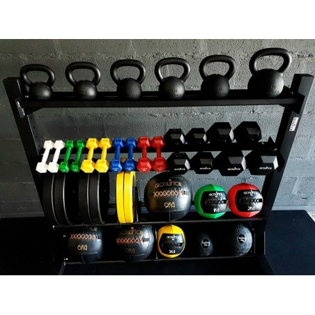 Mobile Wall Ball storage rack
