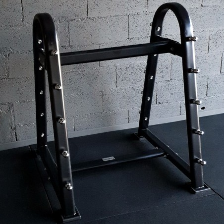 Wall rack for 8-Barbells