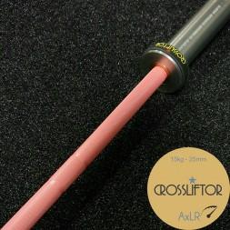 Barre AxLR Rose Poudré - 15 kg