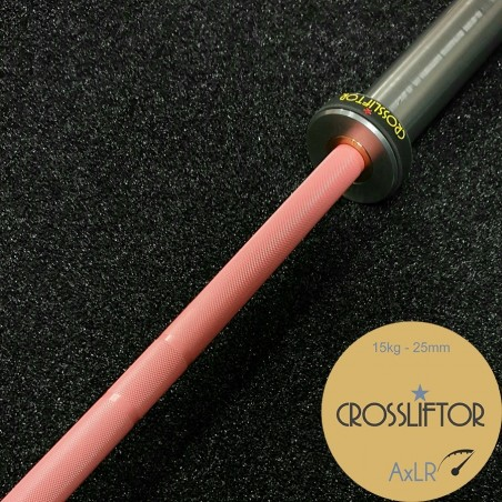 Barre AxLR Rose - 15 kg