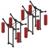 Fight Tank Rig with Gallows XL