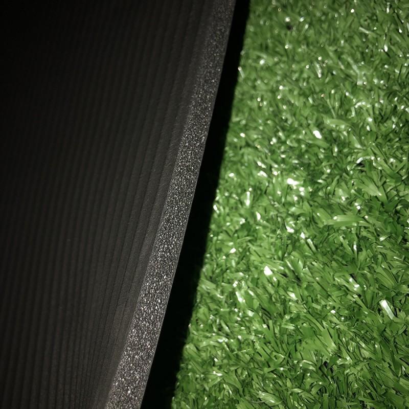 Tapis Fitness Noir épaisseur 10 mm
