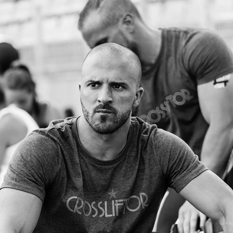 Philippe Da Rocha CrossFit Athlete CrossLiftor