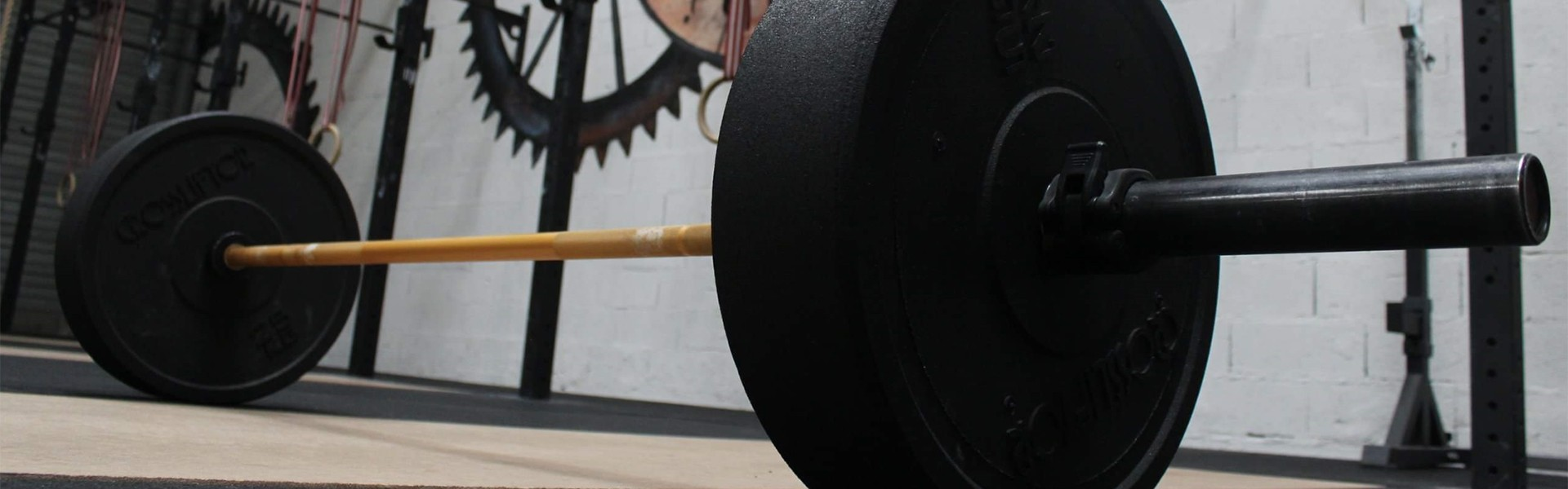 WEIGHTLIFTING BARBELLS AND PLATES